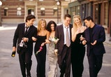 "385848 01: Cast members of NBC's comedy series ""Friends."" Pictured: David Schwimmer as Ross Geller, Jennifer Aniston as Rachel Green, Courteney Cox as Monica Geller, Matthew Perry as Chandler Bing, Lisa Kudrow as Phoebe Buffay, Matt LeBlanc as Joey Tribbiani. (Photo by Warner Bros. Television)"