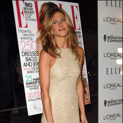 """Jennifer Aniston arrives at the """"Derailed"""" premiere held at Loews Lincoln Sqaure, New York City BRIAN ZAK. (Photo by Brian ZAK/Gamma-Rapho via Getty Images)"""