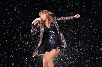CHICAGO, IL - JUNE 02:  Taylor Swift performs onstage during the 2018 reputation Stadium Tour at Sol...