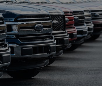 Dartmouth, Canada - February 28, 2020 - 2020 Ford F-150 Pickup Trucks at a Ford dealership.