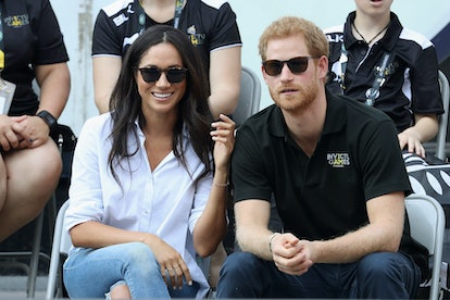 Prince Harry and Meghan Markle once went to the grocery store while dating, he told Dax Shepard.
