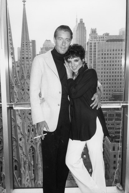 Fashion designer Halston and singer and actress Liza Minnelli were close friends for years.