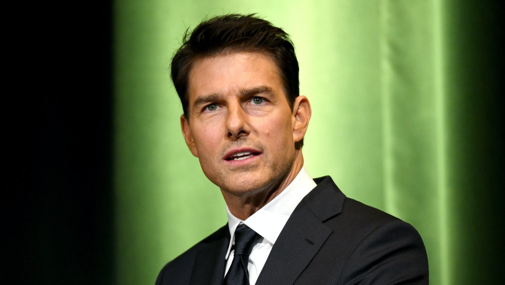 BURBANK, CA - JANUARY 30:  Tom Cruise speaks onstage during the 10th Annual Lumiere Awards at Warner Bros. Studios on January 30, 2019 in Burbank.  (Photo by Michael Kovac/Getty Images for Advanced Imaging Society)