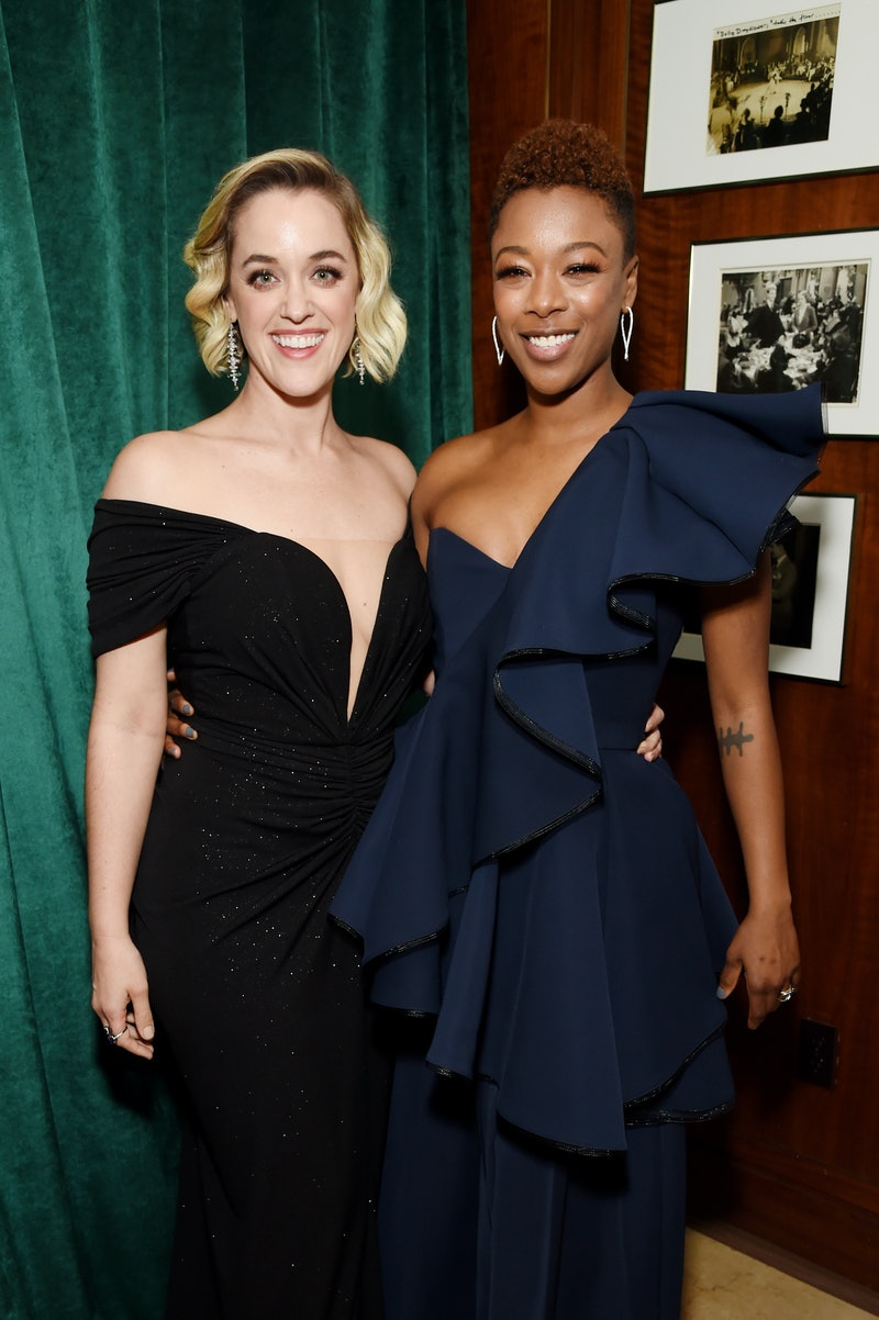LOS ANGELES, CALIFORNIA - JANUARY 19: Lauren Morelli and Samira Wiley attend 2020 Netflix SAG After Party at Sunset Tower on January 19, 2020 in Los Angeles, California. (Photo by Michael Kovac/Getty Images for Netflix)