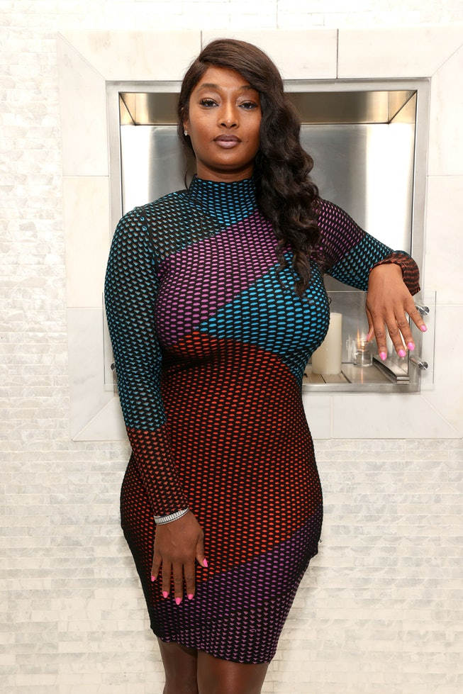 """BEVERLY HILLS, CALIFORNIA - MAY 07: Toccara Jones attends the book release party for """"So You Want To..."""