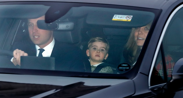 Prince Louis joined his parents for Christmas lunch at the palace.