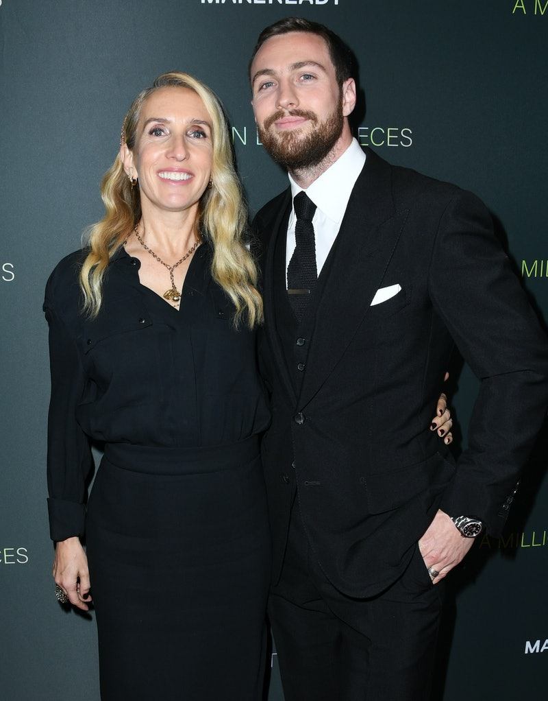 """WEST HOLLYWOOD, CALIFORNIA - DECEMBER 04:  Sam Taylor-Johnson and Aaron Taylor-Johnson attend the Special Screening Of Momentum Pictures' """"A Million Little Pieces"""" at The London Hotel on December 04, 2019 in West Hollywood, California. (Photo by Jon Kopaloff/FilmMagic)"""