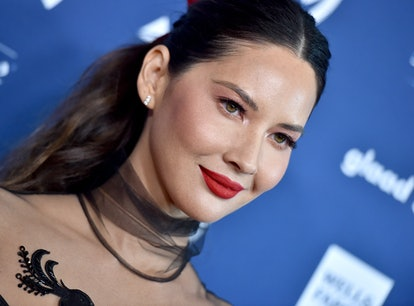 BEVERLY HILLS, CALIFORNIA - MARCH 28: Olivia Munn attends the 30th Annual GLAAD Media Awards at The ...