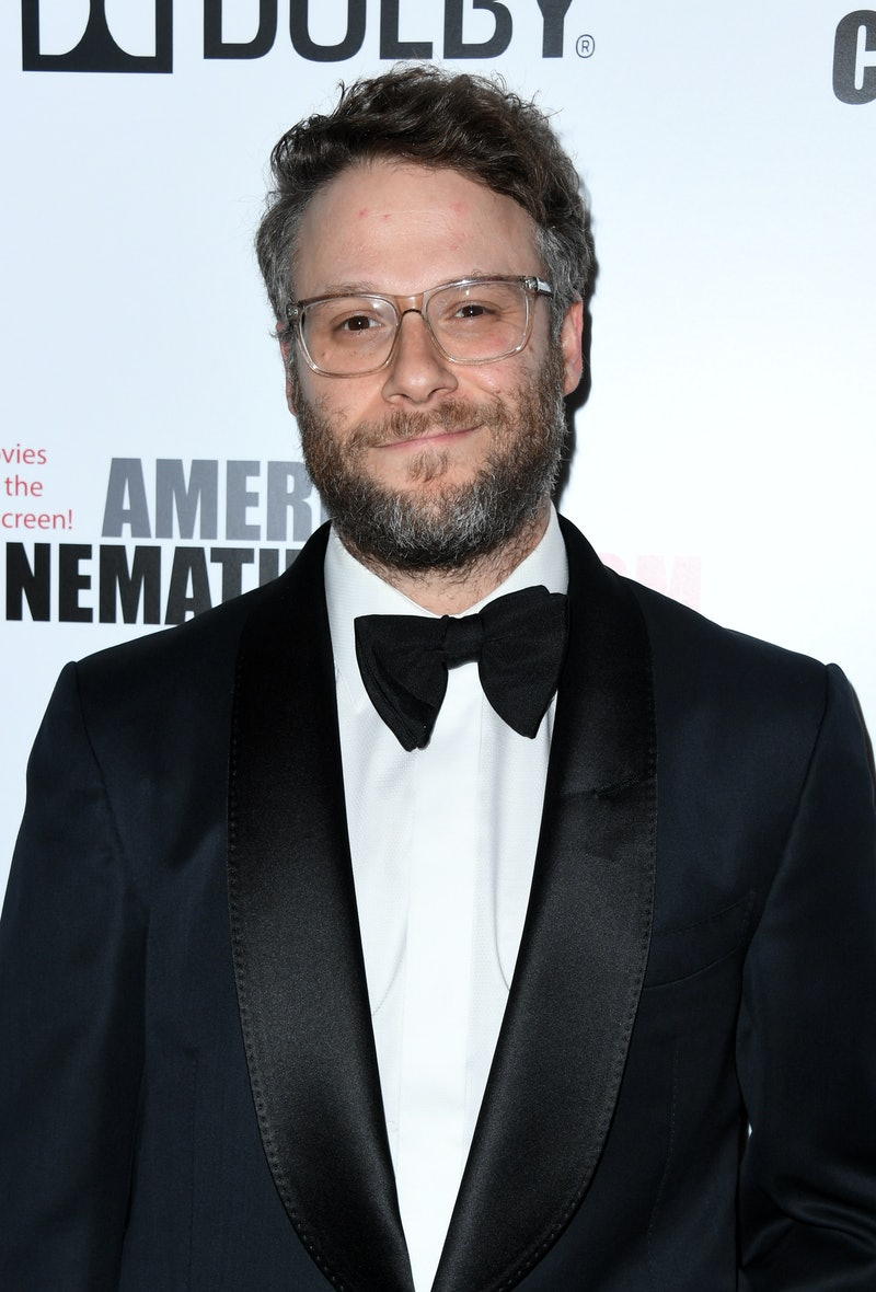 BEVERLY HILLS, CALIFORNIA - NOVEMBER 08: Seth Rogen attends the 33rd American Cinematheque Award Presentation Honoring Charlize Theron at The Beverly Hilton Hotel on November 08, 2019 in Beverly Hills, California. (Photo by Jon Kopaloff/Getty Images)