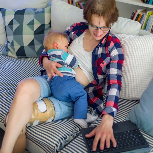 Weaning your baby from breastfeeding may be a slow process.