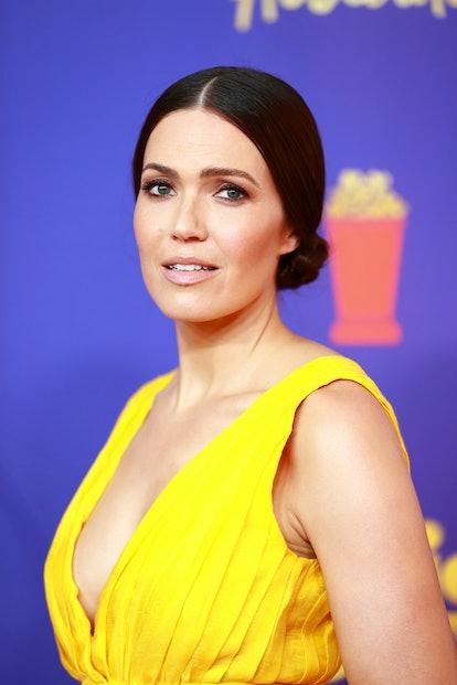 Mandy Moore attends the 2021 MTV Movie & TV Awards