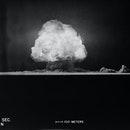 The mushroom cloud of the Trinity test in New Mexico. | Location: Alamagordo, New Mexico, USA. (Photo by © CORBIS/Corbis via Getty Images)