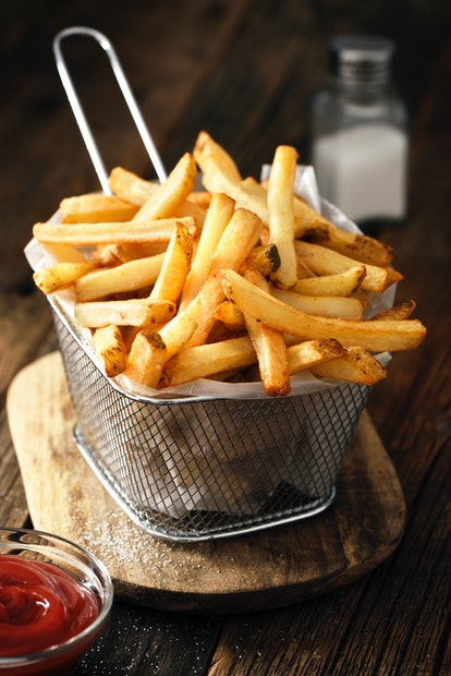 French fries may be a food to avoid with BV.