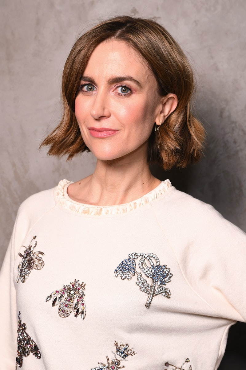 """LONDON, ENGLAND - FEBRUARY 27: Katherine Kelly attends the """"Liar"""" photocall at Curzon Bloomsbury on February 27, 2020 in London, England. (Photo by Dave J Hogan/Getty Images)"""