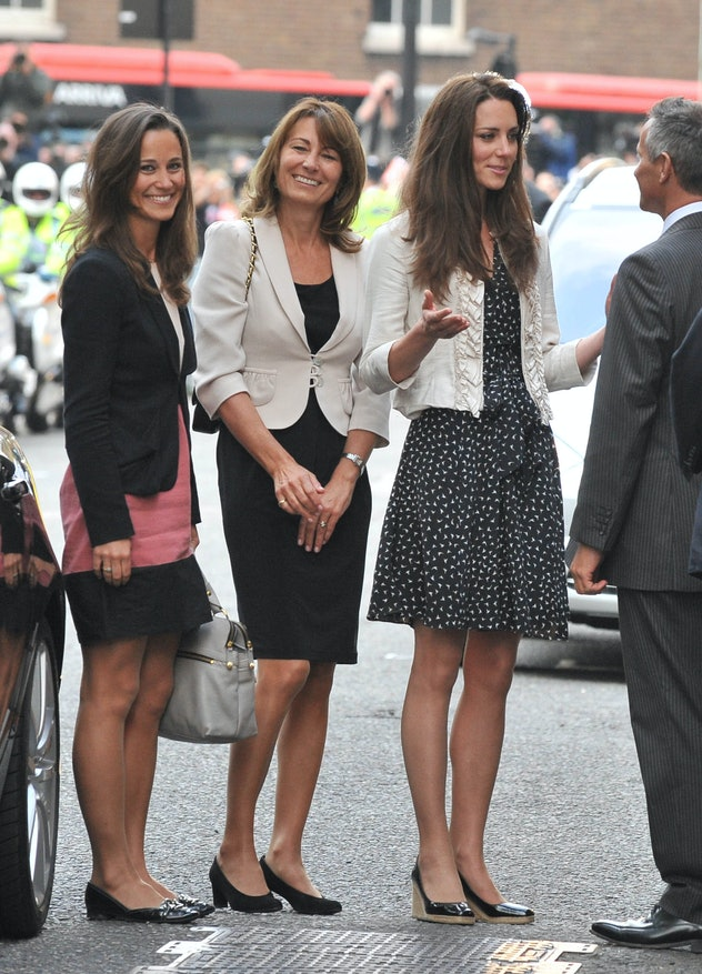 Carole Middleton was excited about her latest grandchild.
