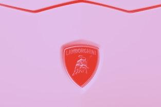 Sant\'Agata Bolognese, Italy - July 28, 2011: Lamborghini Luxury Sports Car Badge