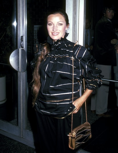"""Jane Seymour during Jane Seymour at a Screening of """"East of Eden"""" at Directors Guild Theater in Los Angeles, California, United States. (Photo by Ron Galella/Ron Galella Collection via Getty Images)"""