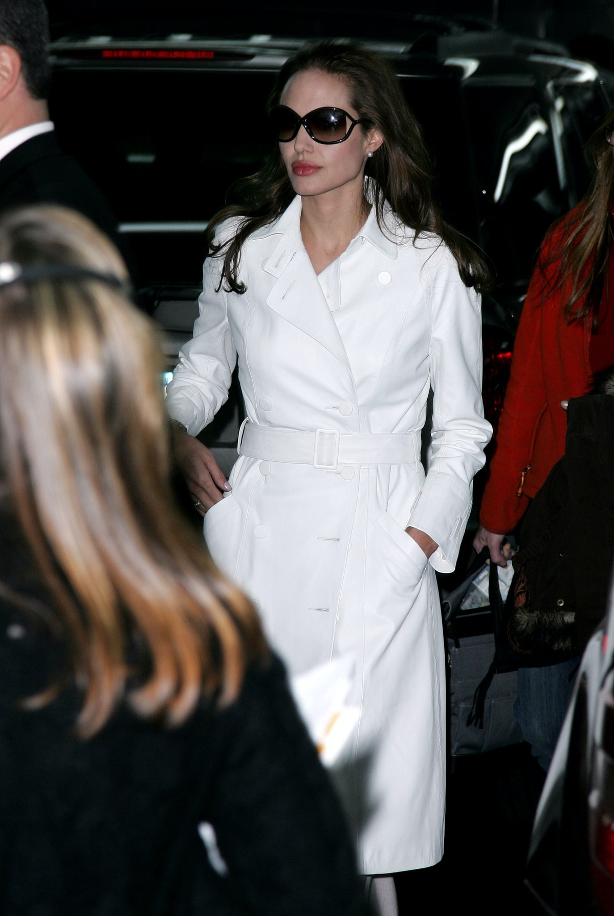 Angelina Jolie during Angelina Jolie Sighting In New York City - December 8, 2006 at Streets of Manh...