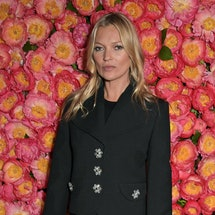 LONDON, ENGLAND  - MAY 09:  Kate Moss attends a private dinner hosted by Michael Kors to celebrate t...