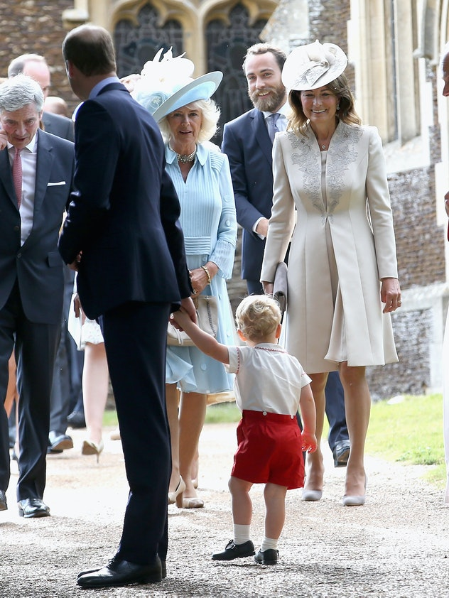 Carole Middleton thinks of royal outings as family events.