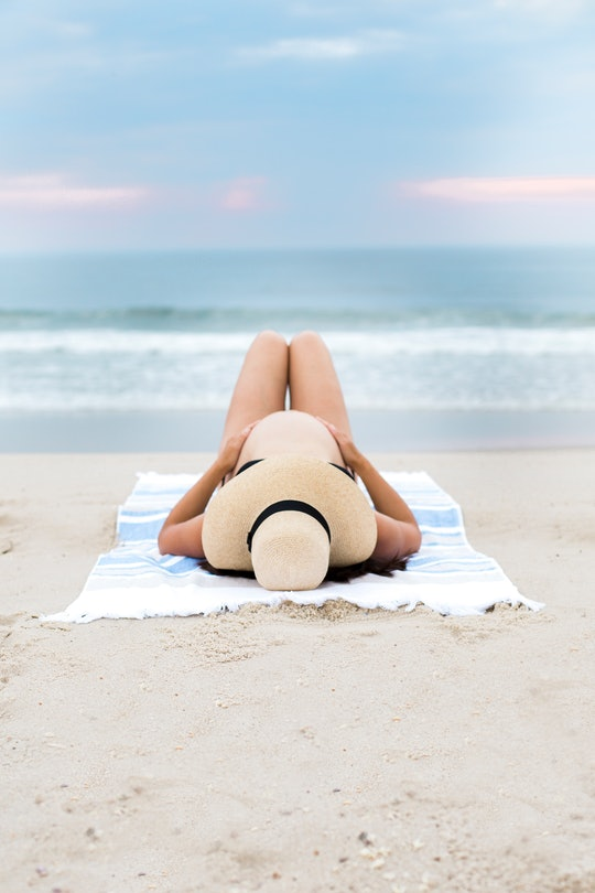 Sunbathing during pregnancy is not safe, experts say.
