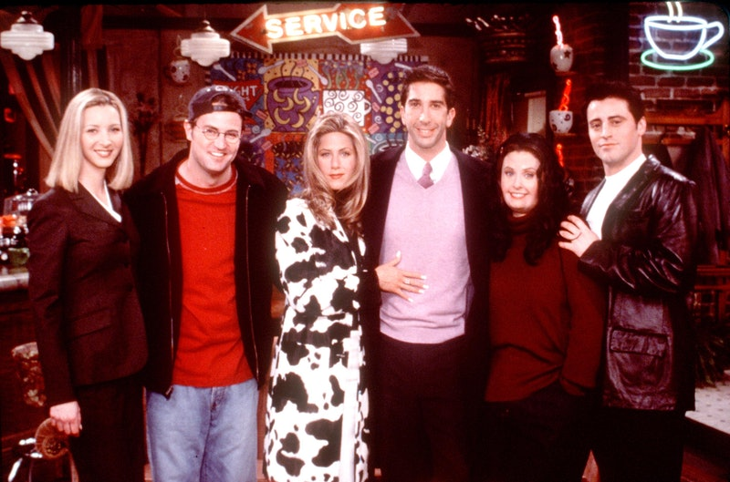 """Friends Special Episode, """"The One That Could Have Been, Part One"""" From L-R: Lisa Kudrow, Matthew Per..."""