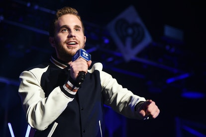 NEW YORK, NY - DECEMBER 08:  Ben Platt speaks at Z100's Jingle Ball 2017 on December 8, 2017 in New York City.  (Photo by Theo Wargo/Getty Images for iHeartMedia)
