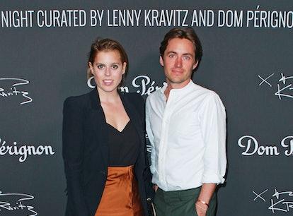 LONDON, ENGLAND -  JULY 10:   Princess Beatrice of York and Edoardo Mapelli Mozzi attend the Lenny K...