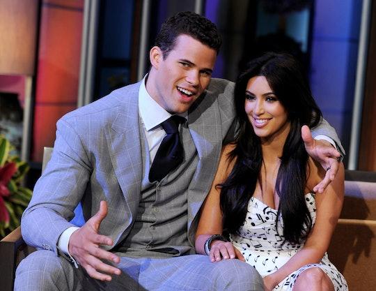 BURBANK, CA - OCTOBER 04:  NBA player Kris Humphries (L) and his wife reality TV personality Kim Kar...