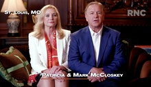 CHARLOTTE, NC - AUGUST 24: (EDITORIAL USE ONLY) In this screenshot from the RNC's livestream of the ...