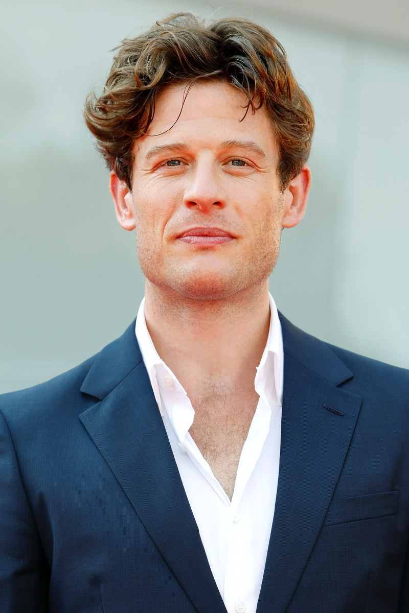 VENICE, ITALY - SEPTEMBER 10: (EDITORS NOTE: Image has been digitally retouched) James Norton attends the premiere for 'Nowhere Special' at the 77th Venice Film Festival on September 10, 2020 in Venice, Italy.  (Photo by Kurt Krieger - Corbis/Corbis via Getty Images)