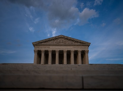 WASHINGTON, DC - MAY 17: The Supreme Court of the United States, photographed on Monday, May 17, 202...