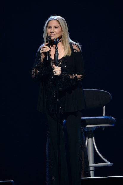 MIAMI, FL - DECEMBER 05:  Barbra Streisand performs onstage during the Barbra - The Music... The Mem'ries...The Magic! Tour at American Airlines Arena on December 5, 2016 in Miami, Florida.  (Photo by Gustavo Caballero/WireImage)