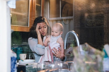 Resentment can build once the postpartum hormones set in.