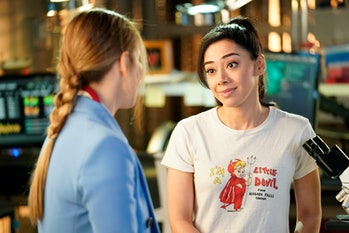 LUCIFER: L-R: Lauren German and Aimee Garcia in the Quintessential Deckerstar episode of LUCIFER air...