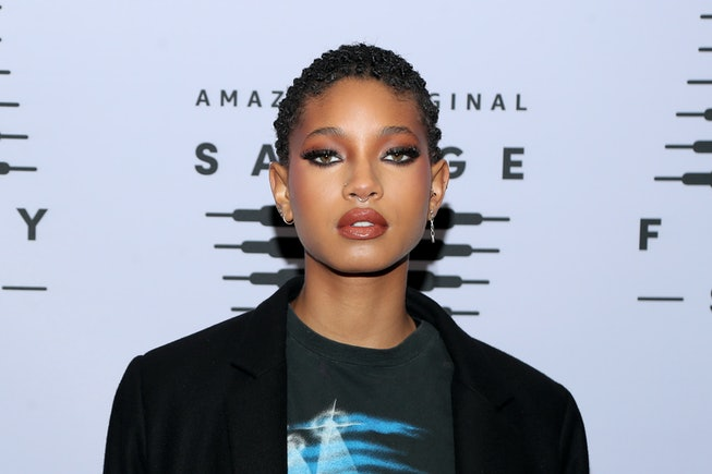 LOS ANGELES, CALIFORNIA - OCTOBER 02: In this image released on October 2, Willow Smith attends Riha...
