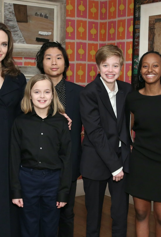 Angelina has six kids that she shares with her ex-husband, Brad Pitt.