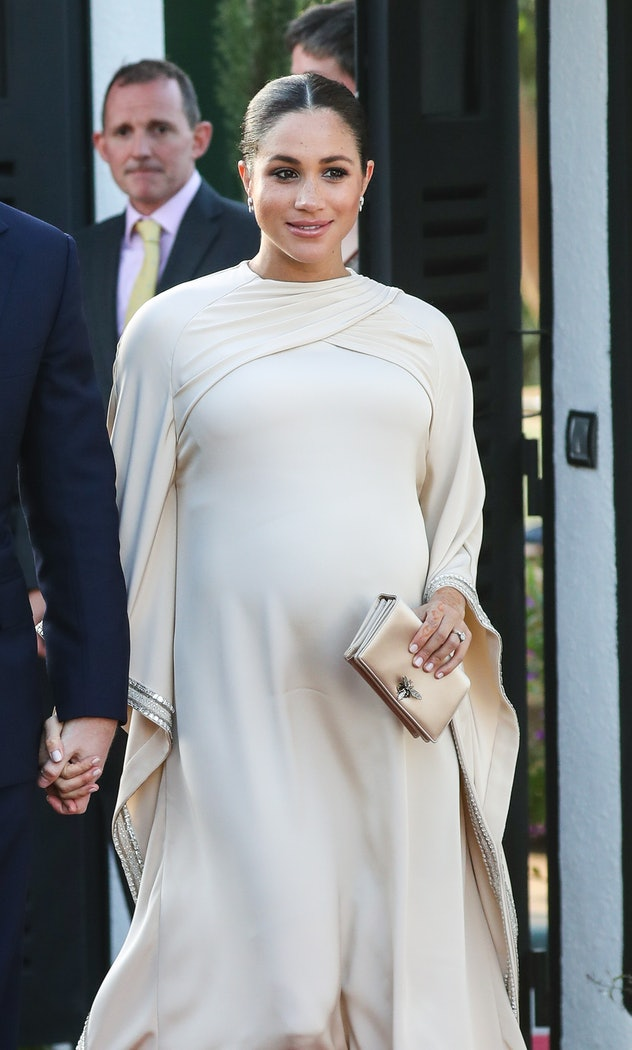 Meghan Markle loved a pregnancy cape.