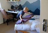 Experts say cleaning their room looks different for each child.