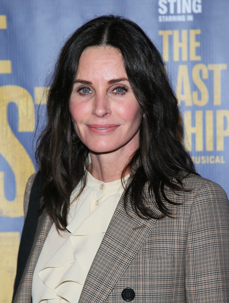 LOS ANGELES, CALIFORNIA - JANUARY 22:    Courteney Cox attends the The Last Ship Opening Night Performance on January 22, 2020 in Los Angeles, California. (Photo by Jean Baptiste Lacroix/Getty Images)