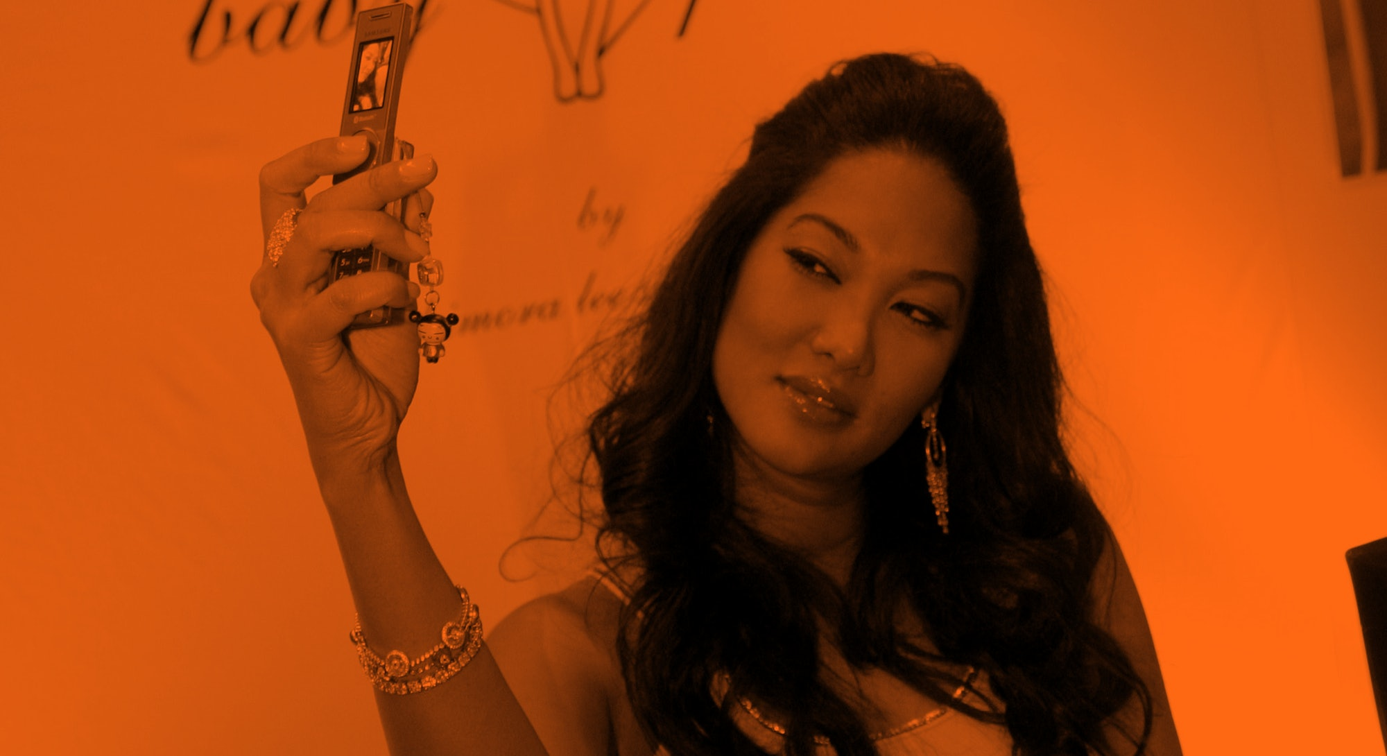 Kimora Lee Simmons during Kimora Lee Simmons Appears at Macy's to Sign Autographs and Promote her Ne...