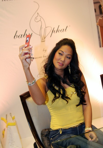 Kimora Lee Simmons during Kimora Lee Simmons Appears at Macy's to Sign Autographs and Promote her New Baby Phat Junior Line at Macy's in Las Vegas, Nevada, United States. (Photo by Johnny Nunez/WireImage)