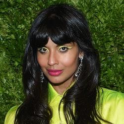 Jameela Jamil, judge on the HBO Max series 'Legendary,' recently showed off her makeup skills on Instagram.