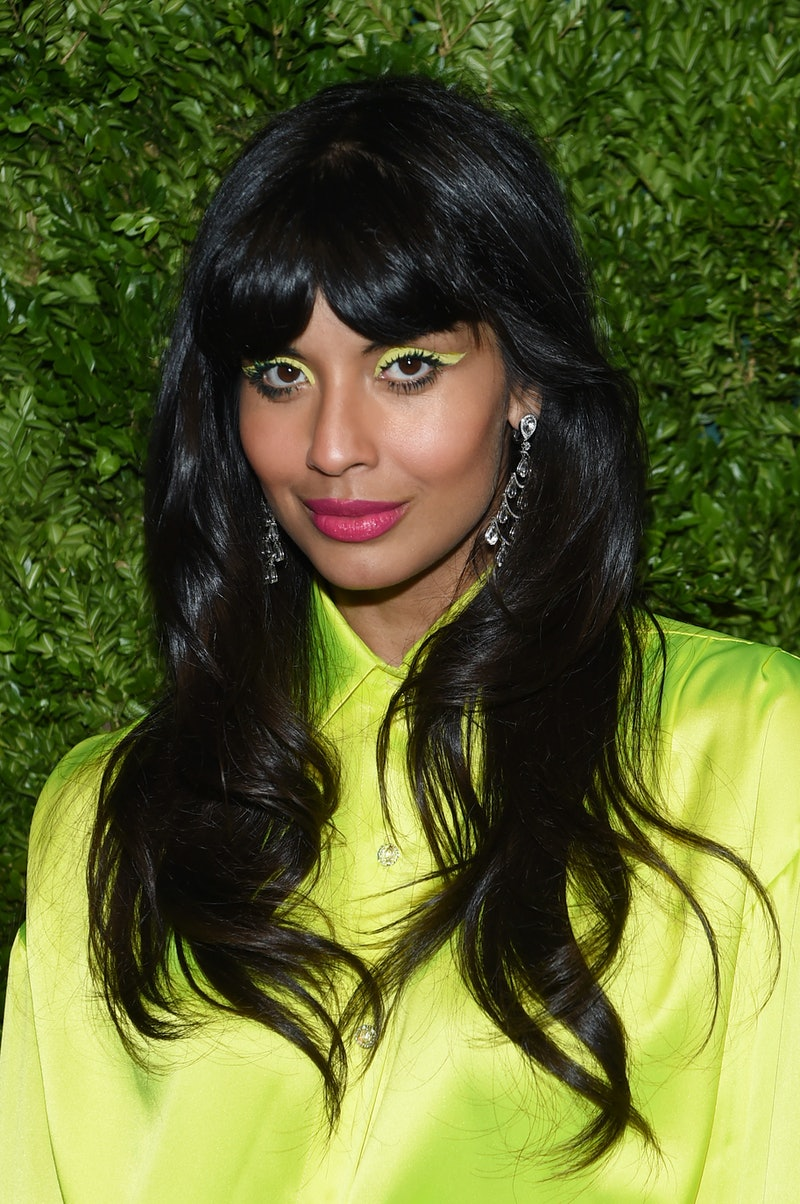 Jameela Jamil, judge on the HBO Max series 'Legendary,' recently showed off her makeup skills on Ins...