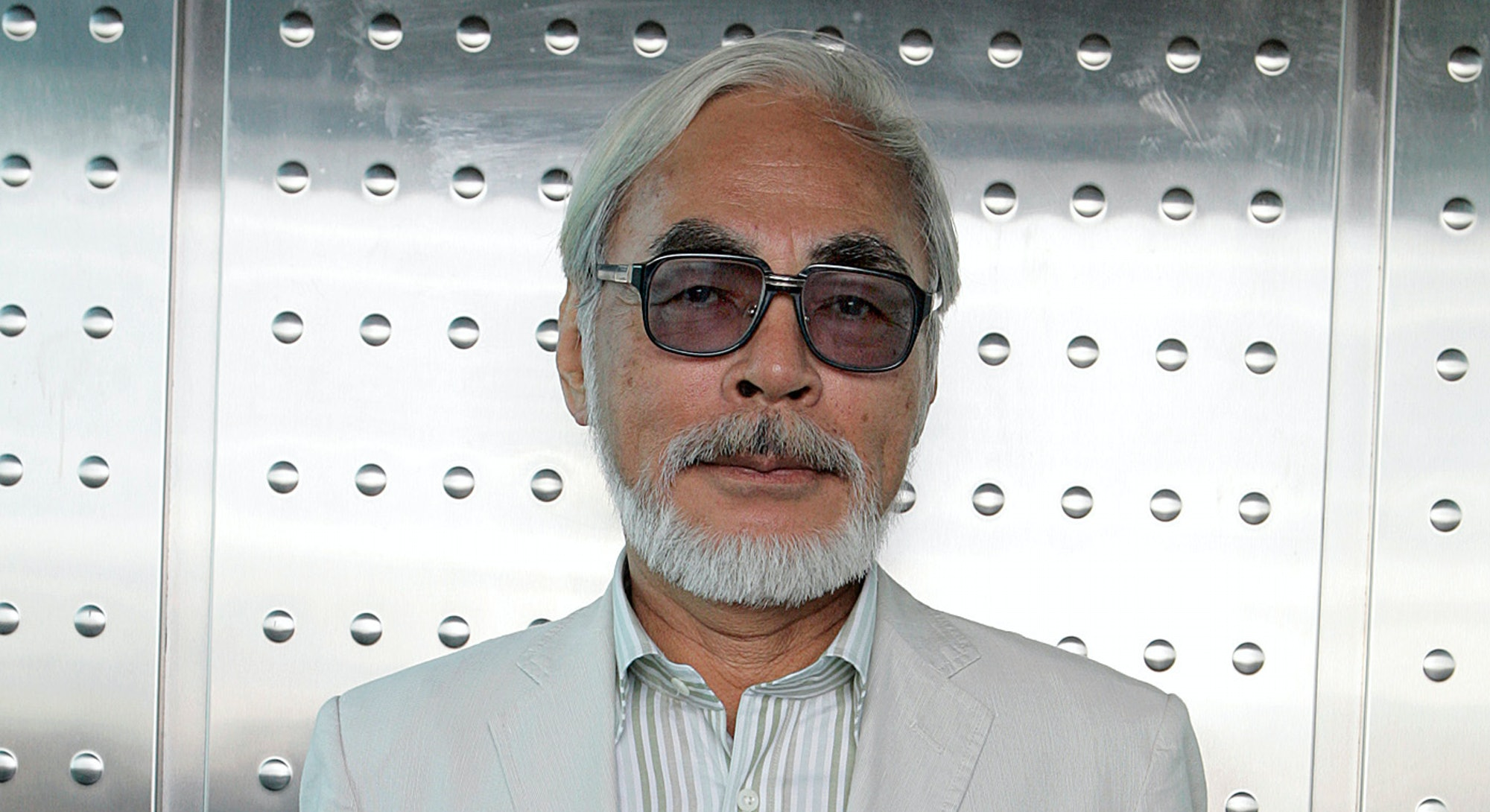 Hayao Miyazaki photographed at Comic–Con International in san Diego, July 24, 2009. A look at the wo...