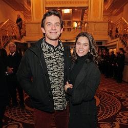 LONDON, ENGLAND - FEBRUARY 25:   Jonathan Bailey and Sabrina Bartlett attend the gala night performa...