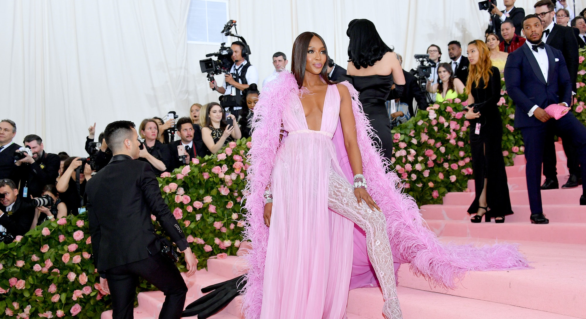 NEW YORK, NEW YORK - MAY 06: Naomi Campbell attends The 2019 Met Gala Celebrating Camp: Notes on Fas...
