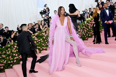 NEW YORK, NEW YORK - MAY 06: Naomi Campbell attends The 2019 Met Gala Celebrating Camp: Notes on Fashion at Metropolitan Museum of Art on May 06, 2019 in New York City. (Photo by Dia Dipasupil/FilmMagic)