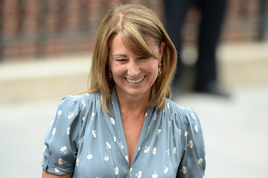 LONDON, ENGLAND - JULY 21:  Carole Middleton leaves The Lindo Wing after visiting The Duchess Of Cam...