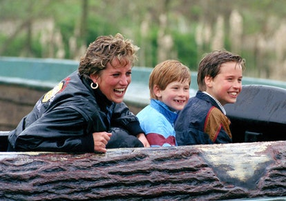 """Photo of Prince William, Prince Harry and Princess Diana, who Archie called """"grandma"""" as one of his ..."""